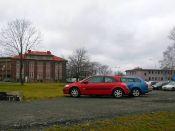 Parkování u cesty - Barcamp Ostrava 2016