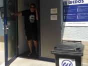 Vchod do Wedosu - E-shop víkend 2016