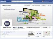 Grafika pro firemní Facebook profil Karat Software