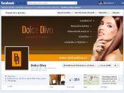 Grafika pro firemní Facebook profil Dolce Diva