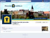 Grafika pro firemní profil na Facebooku - Přerovská realitka
