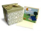 Dárková krabice a svatební přání