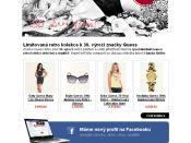 Ukázka grafiky newsletteru - e-shop Guess Butik