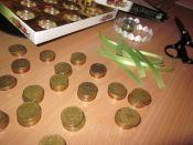 Příprava svatební bonboniéry
