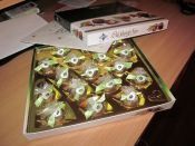 Svatební dar - štědrá bonboniéra