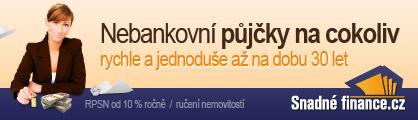 Banner Snadné finance
