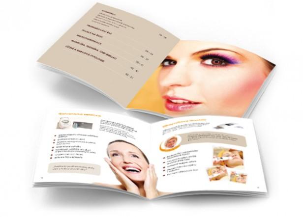 Grafický návrh a sazba brožury Dolce Diva