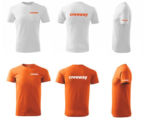 Potisk trička Coreway