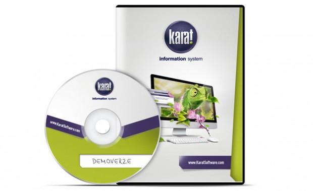 CD a obal na CD KARAT