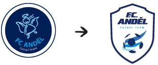 Redesign loga FC Anděl