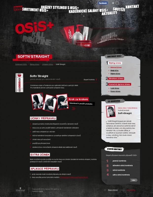 Web Schwarzkopf Osis+