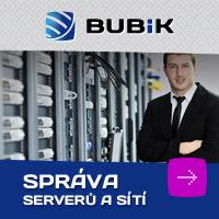 Grafický návrh banneru Bubik