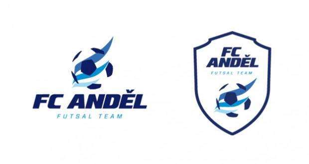 Logo a znak FC Anděl