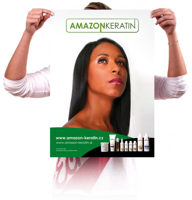 Plakát A2 Amazon keratin