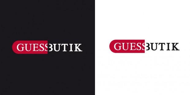 Logo Guess Butik
