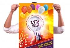 Plakát - oslava narozenin