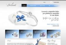 Web zlatnictví Brilant