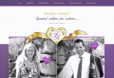 Náš svatební den