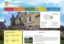Web obce Veselíčko