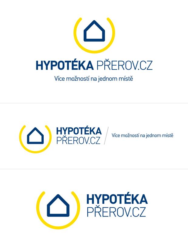 Grafický návrh loga Hypotéka Přerov