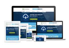 Responzivní design pro webové stránky Softwarehosting pro různá zařízení