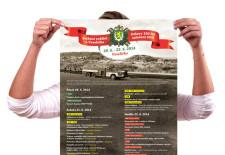 Sjezd rodáků a oslavy 100 let založení SDH Veselíčka - plakát a pozvánka