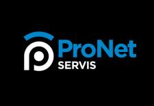 Grafický návrh loga Pronet servis