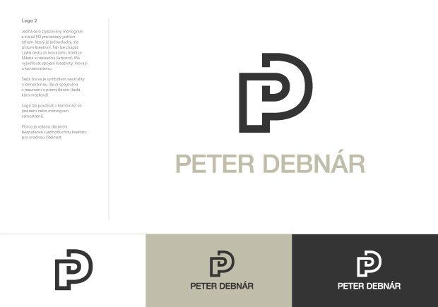 Logo Peter Debnár nerealizované