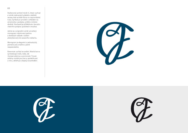 Nerealizovaný monogram JC