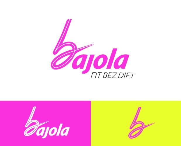 Grafický návrh loga Bajola - Fit bez diet