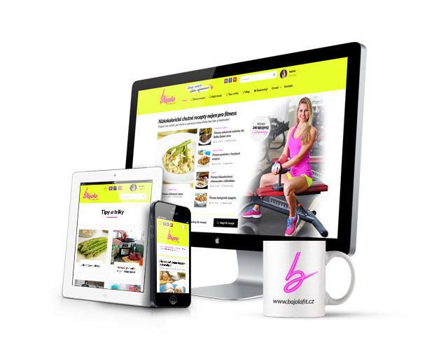 Responzivní web s fitness recepty